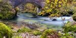 Flowing under the bridge