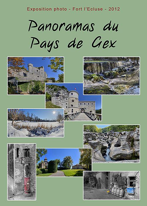 Expo photo - panoramas du Pays de Gex - Fort l'Ecluse 2012