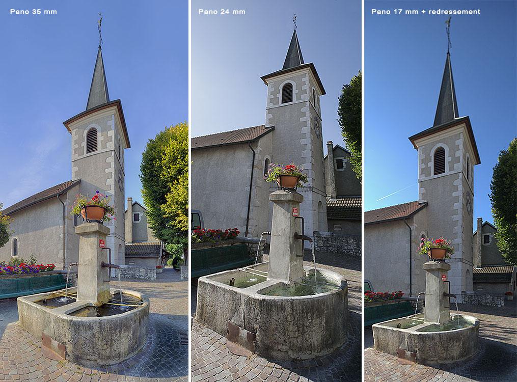 Comparaison panoramas 17-24-35 mm