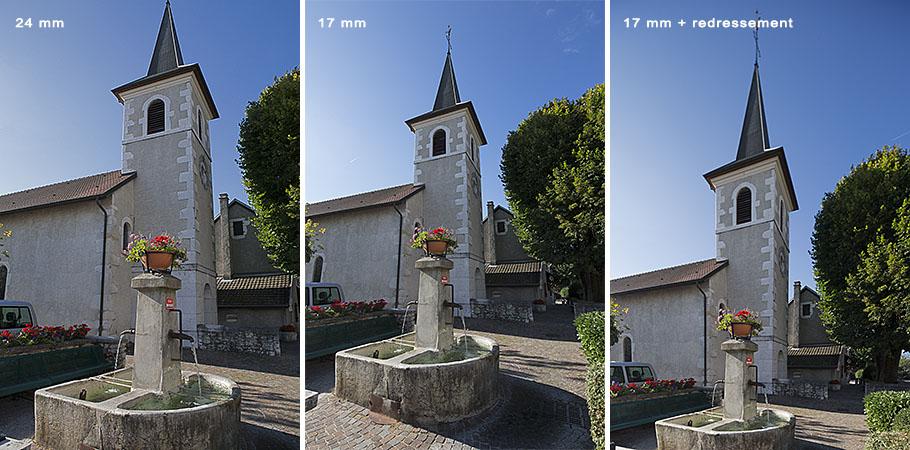 Comparaison objectif 24mm-17mm