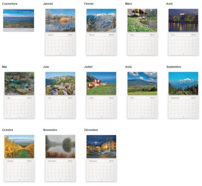 calendriers 2015 du pays de gex le blog mise au point