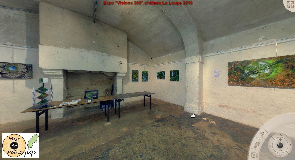 """Visite virtuelle 360° des """"Visions 360"""""""