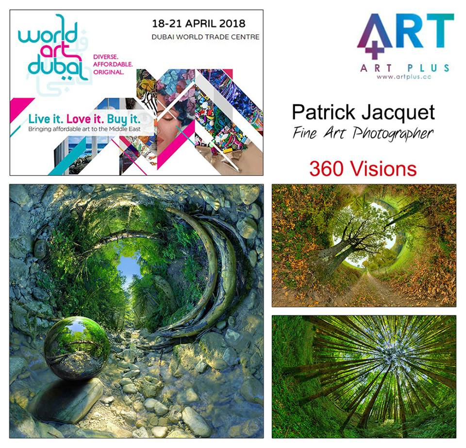 Les Visions 360 en expo à World Art 2018