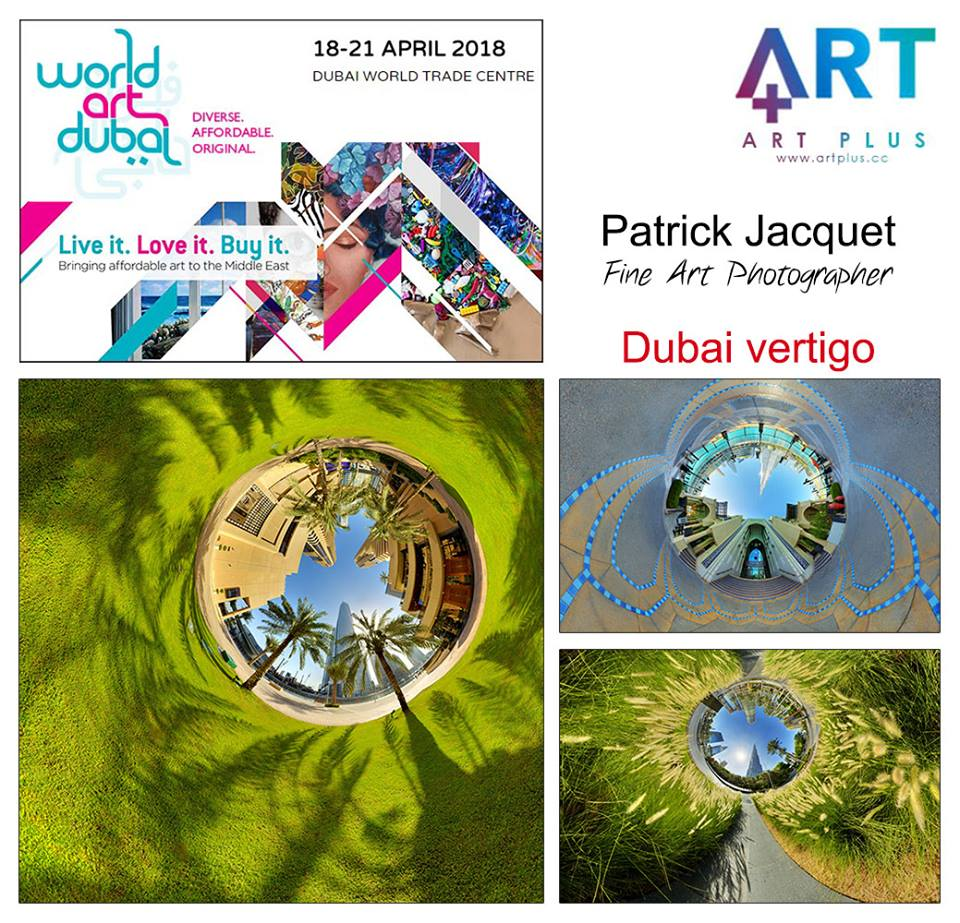 Dubai vertigo en expo à World Art 2018